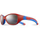 Julbo Kids 4-6Y Solan Spectron 3+ Sunglasses Red/Blue-Gray Flash Silver